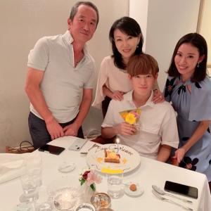 息子の誕生日ディナー