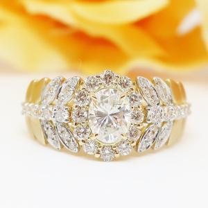 華やかなダイヤモンドリング