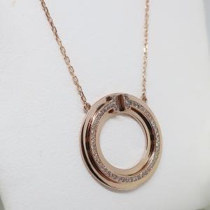 女性らしい曲線のダイヤモンドジュエリー