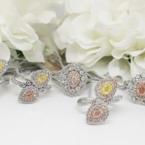 圧巻!!ピンクダイヤモンドのリングたち