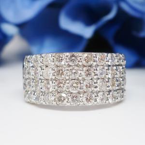 Summer  Sale 2カラットの眩い煌めきのダイヤモンドリング