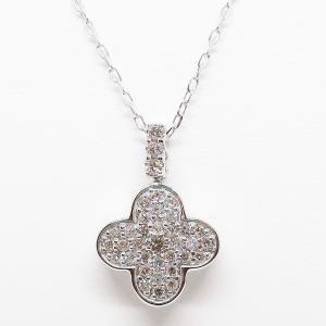 Summer Sale リバーシブルでお使い頂けるダイヤモンド&シェルのペンダントネックレス