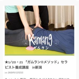 1/20 21 ガムランメソッド養成講座in新潟