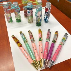 【オープンスクール】ハーバリウムボールペンを作ろう!.。゚+.(・∀・)゚+.゚