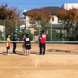 ソフトテニス秋季大会‼