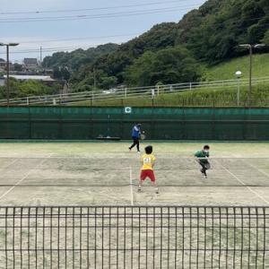 【部活動】高体連夏季福岡県ソフトテニス大会