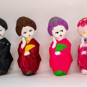 博多人形彩色【博多人形ゼミ】
