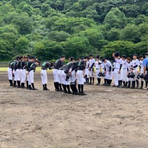 【部活動】高体連夏季野球大会.。゚+.(・∀・)゚+.゚