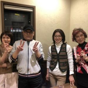 クリスマスディナーショー慰労会