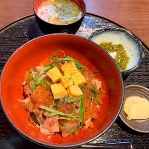 お昼の海鮮丼 @ はまじま