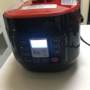 電気圧力鍋❤︎買いました