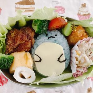 幼稚園弁当☆。.:*・゜すみっコぐらし とかげ☆。.:*・゜