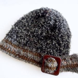 バックル付き帽子
