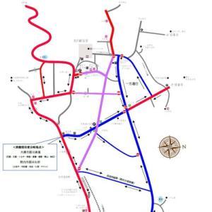 年末年始交通規制マップ