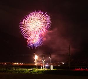 塩田平大花火大会が開催されました!