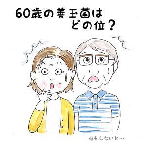 60歳の善玉菌はどこ位?