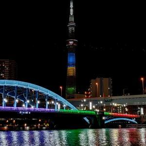 東京オリンピック!スカイツリー。 +朗読 芥川竜之介著「彼」