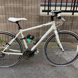 マメ×クロスバイク