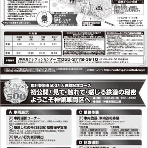 JR東海さわやかウォーキング 春日井駅~神領車両区