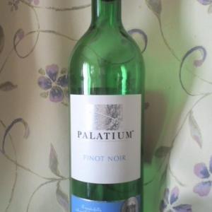「PALATIUM PINOT NOIR(パラツィウム ピノノワール)」初めてのワイン、と思っていたのに