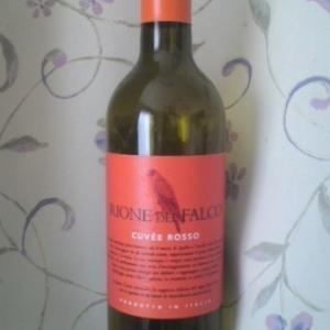 「RIONE DEL FALCO CUVÉE ROSSO(リオーネ デル ファルコ ロッソ)」赤白飲み比べて