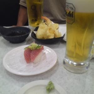 さいごの「かっぱ寿司」。神奈川はまた飲食店で酒が飲めなくなったので
