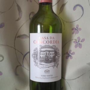 「CASA DA CONCORDIA VINO TINTO(コンコルディア 赤)」もはや来歴不明だが