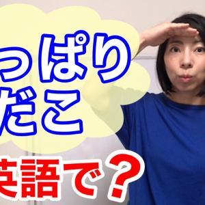 【動画】「ひっぱりだこ」を英語で?
