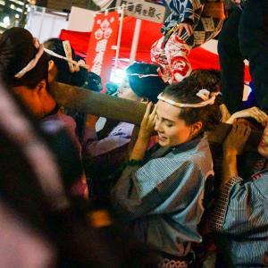 Kunihiro Onna Mikoshi : j'ai participé au festival de Nakasu !