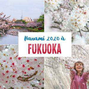 Hanami 2020 à Fukuoka : où est-ce que je suis allée voir les cerisiers