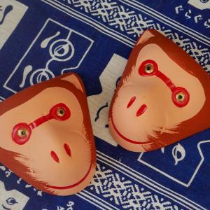 Sarumen, les petits singes protecteurs de Fukuoka