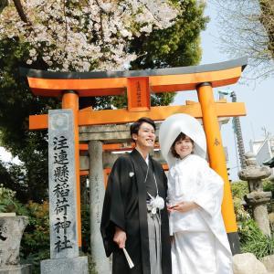[Mariage franco-japonais] La cérémonie au sanctuaire