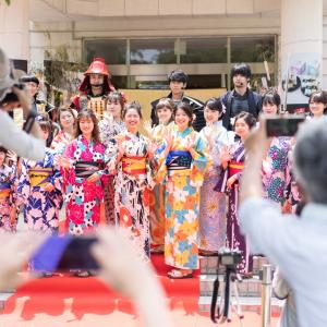 Ambassadrice des fleurs de Fukuoka !