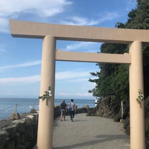 ★ 二見興玉神社の「夫婦岩」「天岩戸」★