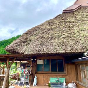 ★オススメ!築200年以上の茅葺き屋根のカフェ★