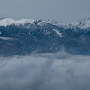 今朝の八ヶ岳