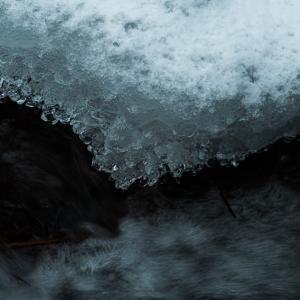 寒風の流れ