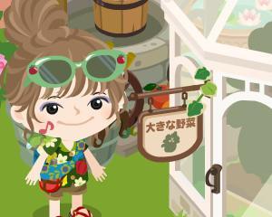 『大きな野菜イベント~緑カボチャ~』が始まりました♪