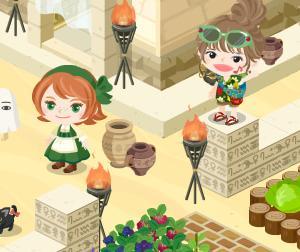 『大きな野菜イベント~緑カボチャ~』、引っこ抜き頑張ってま~す♪