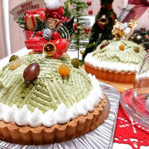抹茶と黒糖ムースのタルト~マンスリー冷菓レッスン12月~