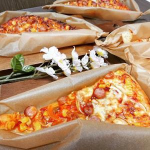 天板ピザパン♪