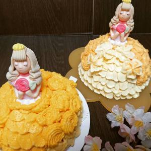 『お姫様ケーキ~マンスリーデコ2レッスン4月~』