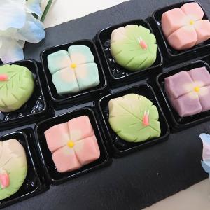 和菓子『練り切り~紫陽花&梅雨明け~』今日のレッスン♪