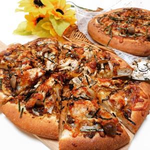 『米粉入り和風ピザ』~今日のレッスンパート2~♪