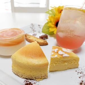 『スフレチーズケーキ』~今日のレッスンパート1~♪
