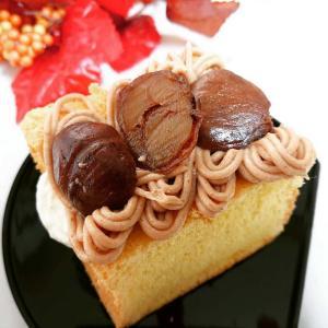 栗のシフォンケーキ♪