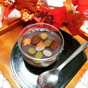 『水羊羹&錦玉~紅葉~』『簡単!パンケーキプレート』~今日のレッスンパート1~♪