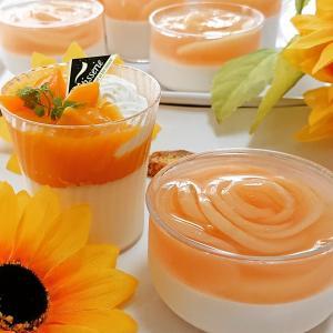 『桃のブランマンジェ』♪