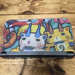 new 3DS の妖怪ウォッチカバーを手作りしました