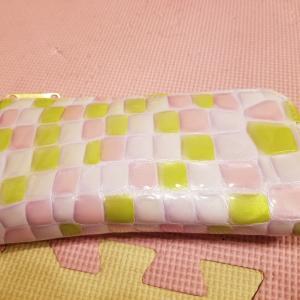 一粒万倍日に新しいお財布をおろしました!
